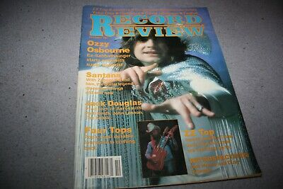 Record Review October 1981  -  Ozzy Osbourne Cover