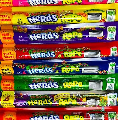 Medicated Nerds Rope *Empty Bags* *Various Flavors* Ships In 24 Hours*!!!!