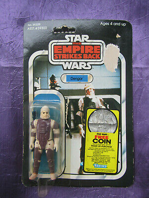 Kenner Star Wars Empire Strikes Back Dengar 41 on Back
