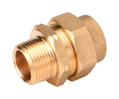 HOME-FLEX 1/2 in. CSST Brass Male Adapter