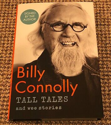 Billy Connolly Tall Tales And Wee Stories Signed
