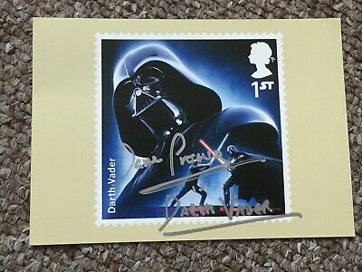 Dave Prowse Hand Signed Autograph Postcard Darth Vader *OFFERS* Royal Mail Issue