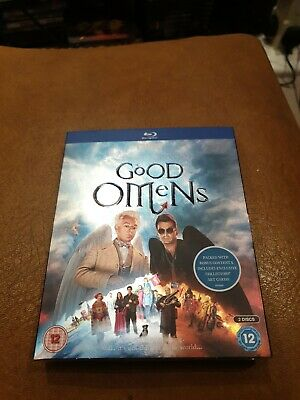 Good Omens [Blu-ray]exclusive Collectors Art Cards