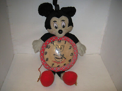 Richie Rich Mickey Mouse Style Clock 1991