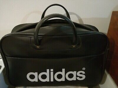 Vintage Adidas Peter Black sports bag.
