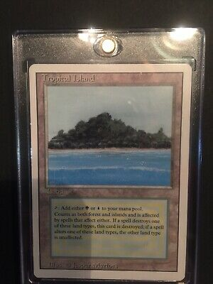 1x Tropical Island | Dual Land | Revised 3rd Edition | Magic the Gathering
