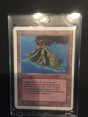 1x Volcanic Island | Dual Land | Revised 3rd Edition | Magic the Gathering