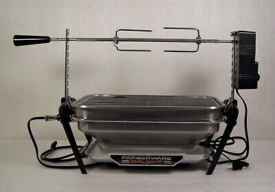 Farberware Open Hearth Indoor Rotisserie Grill Model 455N Frame Heating Element