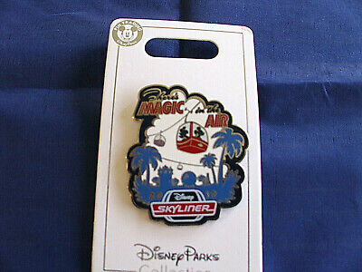 Disney * MAGIC IN THE AIR - SKYLINER * New on Card Attraction Pin