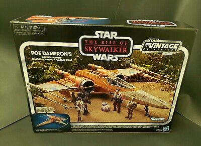 2019 Star Wars Vintage Collection POE DAMERON'S X-WING FIGHTER MIMB TROS
