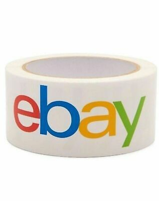 "Lot Multi-Pack eBay Branded Packaging Shipping Tape 2"" x 75 Yards x 12"
