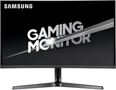 "Samsung C27JG54QQE 27"" 144Hz WQHD LCD LED Curved Gaming Monitor 4MS HDMI DP VA"