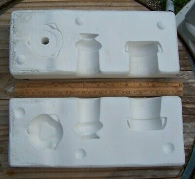 Ceramic Mold - Air Capitol # A240 Play Dishes, worn