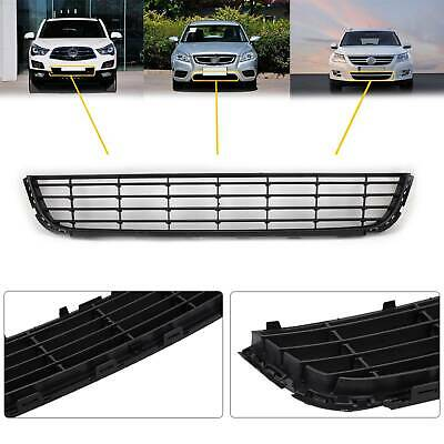 VW Golf MK6 2009-2012 Front Bumper Grille Black Lower Centre Insurance Approved