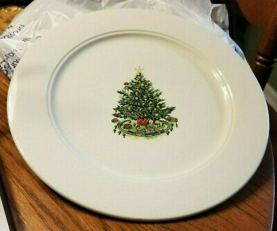 Homer Laughlin Best China Christmas Tree Plate