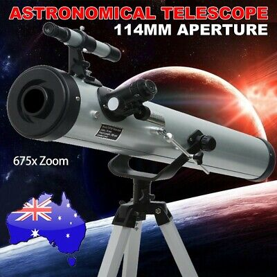 675x Zoom Astronomical Telescope 114mm Aperture Night Vision HD High Resolution
