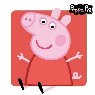 S0718960 253267 Coussin Peppa Pig 74482 Rose (25 X 25 cm)