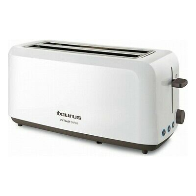 S0407227 252232 Grille-pain Taurus My Toast Duplo 1450W Blanc