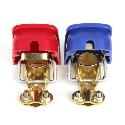 1 Pair Car Battery Quick Release Battery Terminals Clamps for Car styling fg