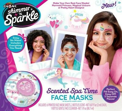 NEW Shimmer And Sparkle Make Your Own Spa Time Face Mask from Mr Toys