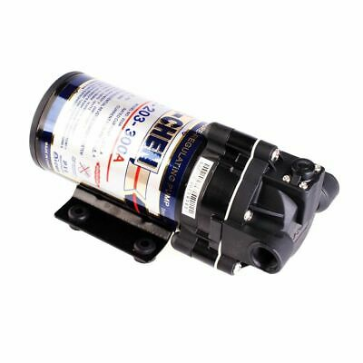 """Booster Pump For Reverse Osmosis 300GPD with Power Supply and 1/4"""" Fittings"""