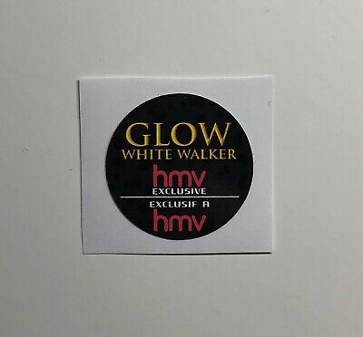 Glow In The Dark White Walker Sticker Custom For Funko Pop Pegatina