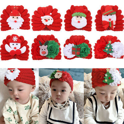Cartoon Christmas Photography Accessories Knitted Baby Hat Baby Winter Hat