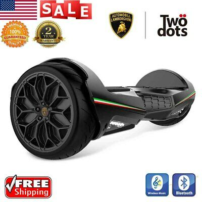 "6.5"" Bluetooth Off Road Electric Smart LED Self Balancing Scoote w/ Two Wheels"