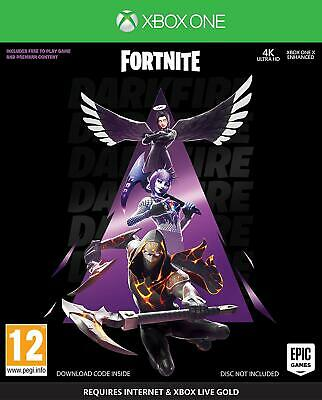Fortnite Darkfire Bundle (Xbox One) Game | NEW | * SEE DETAILS * BLACK FRIDAY