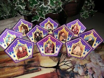 Harry Potter Chocolate Frog Cards - 10 Card Set w/ Devlin Whitehorn