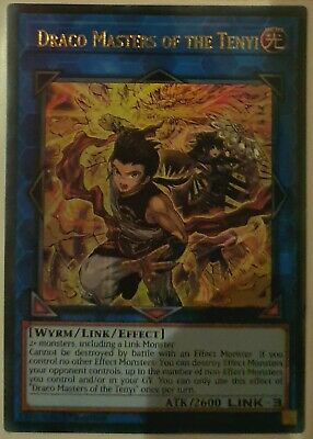 Draco Masters of the Tenyi - CHIM-EN035 - 1st Edition - Ultra Rare - YuGiOh