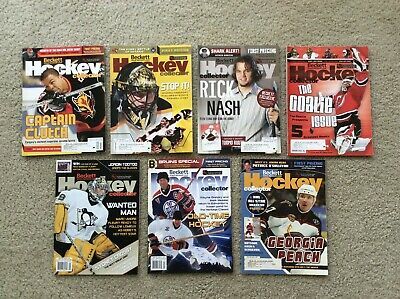 Beckett Hockey Collector - 2004 - Lot of 7 - Fleury - Gretzky - Messier - Iginla