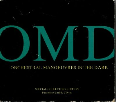 "Orchestral Manoeuvres In The Dark - "" OMD-Parts 1 , 2 & 3 "" - 1991 RARE Digipack"