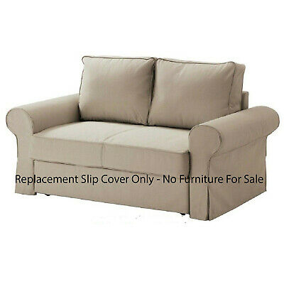 Super Ikea Backabro Replacement 2 Seat Sofa Bed Slip Cover Set Bralicious Painted Fabric Chair Ideas Braliciousco