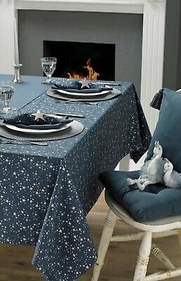 Starry Night Christmas Table Collection, Apron, Tablecloth, Tea Towel or Runner