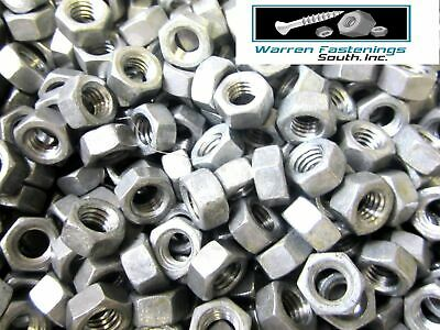 100 3/8-16 Finished Hex Nuts Hot Dipped Galvanized