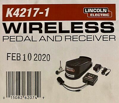 Lincoln Wireless Foot Pedal and Receiver (K4217-1)