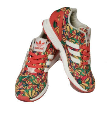 ADIDAS CASUAL SNEAKERS Flower Patterns WOMEN SHOES ** Size