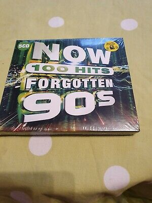 V/A: NOW 100 HITS FORGOTTEN 90S (CD.) Free post