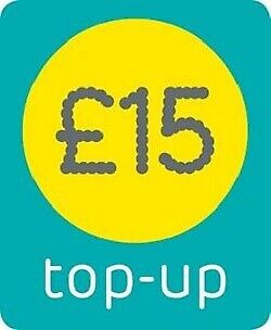 EE - £15 - Mobile phone Top Up Vouche - Pay as You Go