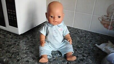 Zapf Baby Born Anatomically Correct Boy Doll Magic Eyes