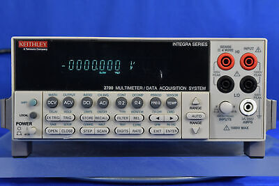 Keithley 2700 Integra Series Multimeter Data Acquisition System