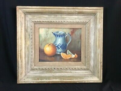 """Still Life """"DUTCH PITCHER"""" by Amy Griffiths Difley Brown O'Toole (1896-1987)"""