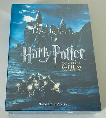 Harry Potter: Complete 8-Film Collection, DVD, 2011, 8-Disc Set, (Free Shipping)