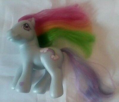 MY LITTLE PONY blue Rainbow Dash  2002  HASBRO
