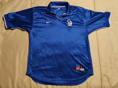 Vintage Nike Shirt Italia 1998 World Cup Del Piero Brand New Jersey Shirt | eBay
