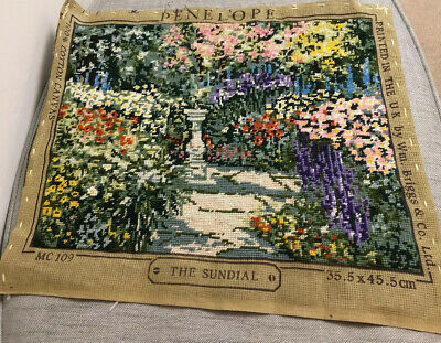 Penelope Tapestry Briggs & Co Ltd The Sundial Completed