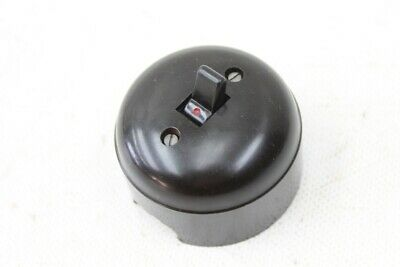 old toggle switch Bakelite round on-wall Light Switch Switch ON OFF