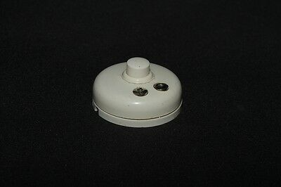 Old Bakelite Switch FLUSH-MOUNTED toggle switch Door bell Button flush-mounted