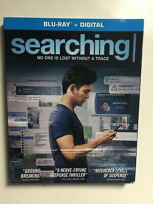 Searching (Blu-ray/DVD, Digital HD, 2018) NEW w/slipcover